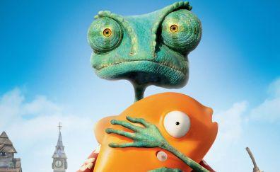 Rango animation movie, lizard