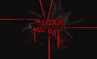 Typography - The system must pay