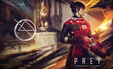 Prey 2017 video game, female protagonist