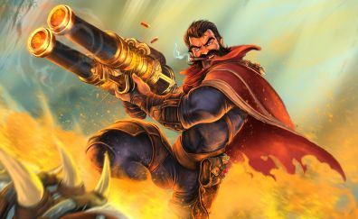 Graves, League of legends, game, online game