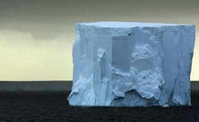 Iceberg of arctic sea