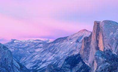 Yosemite national park, nature