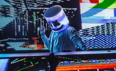Marshmello, DJ, party, 4k