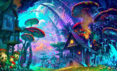 Fantasy artwork of nature