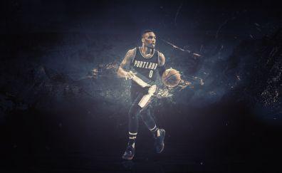Isaiah Thomas, NBA, Basketball player, artwork