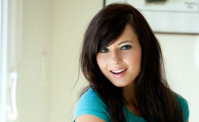 Natasha Belle, face, model