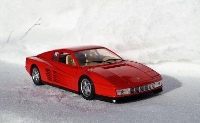 Model car, Ferrari Testarossa, toy