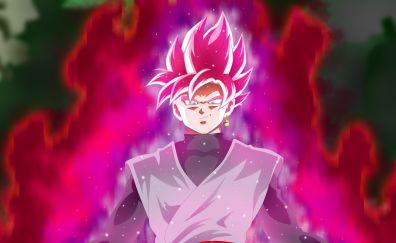 Black goku, Dragon Ball Super, anime boy
