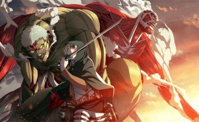 Annie Leonhart, Attack on Titan, anime