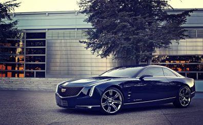 Cadillac Elmiraj Concept Blue car