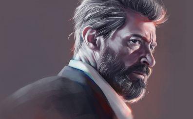 Logan, Hugh Jackman, fan art