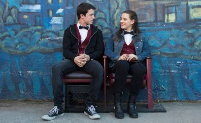 13 reasons why, lead actors, TV series, Dylan Minnette, Katherine Langford