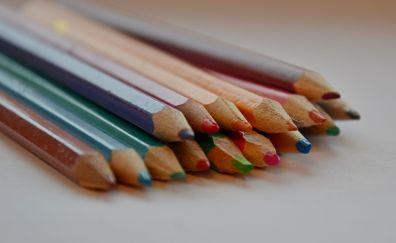 Colored pencils, sharpen
