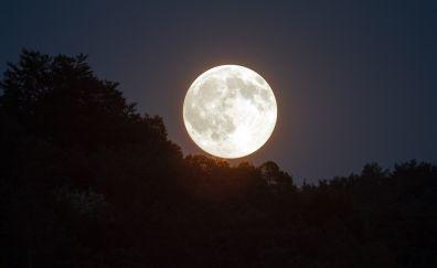 Full super moon 2016