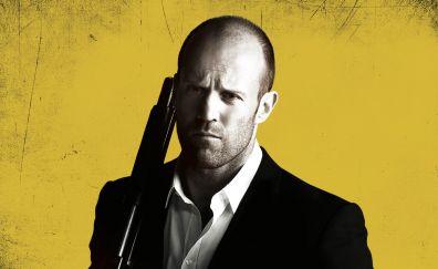 Jason Statham, Parker, 2013 movie, gun