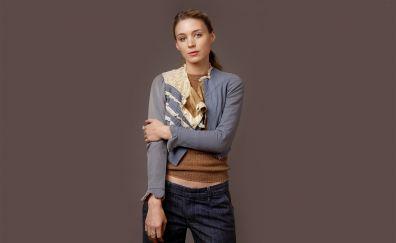Celebrity, Rooney Mara, brunette