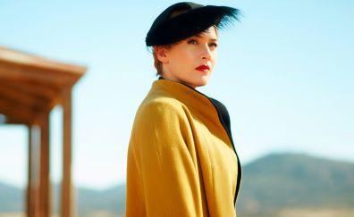 Kate Winslet, The Dressmaker, 2015 movie, celebrity, blonde, hat