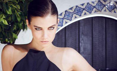 Lauren Cohan, beautiful face