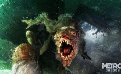 Metro: Exodus E3, 2017 game, creature, 4k