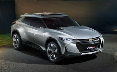Chevrolet FNR-X Concept, 2017 car, 4k, Silver car