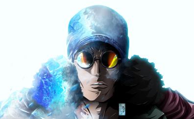 Kuzan, one piece, anime