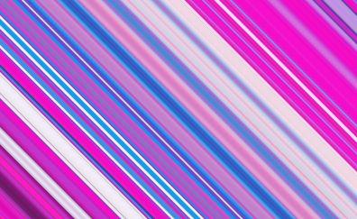 Line obliquely pink