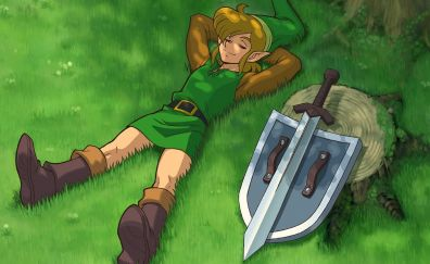 The Legend of Zelda: A Link to the Past video game
