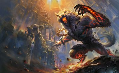 Beast fenrir game smite