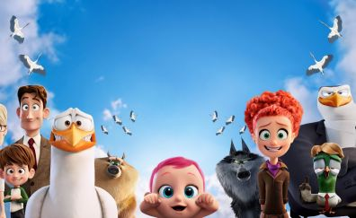 Storks animation movie 2016 characters