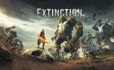 EXTINCTION, 2018 game, video game, 5k