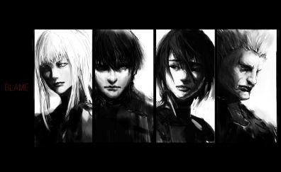 Blame anime, monochrome