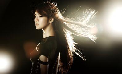 Asian Korean girl model