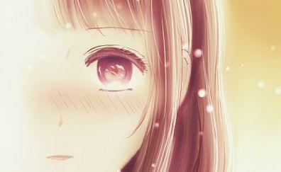 Kuzu no Honkai, Scum's Wish, anime girl face