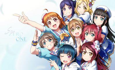 Love Live! Sunshine!!, anime girls