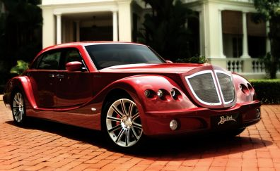 2015 Bufori Geneva classic red car