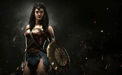 Injustice 2, video game, wonder woman, game