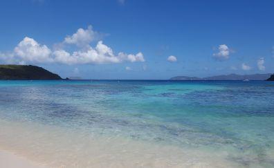 Caribbean sea, blue sea