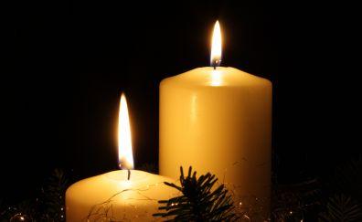 Candles lights, celebration