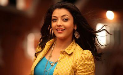 Cute Kajal Aggarwal smile bollywood actress