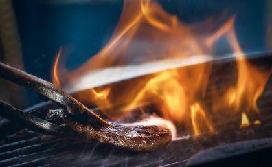Fire, baking