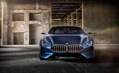 BMW Concept 8 Series, front view, luxury car, 4k