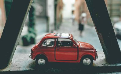 Window Re Maquette, miniature car, toy