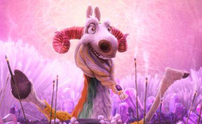 Shangri llama of ice age animation movie