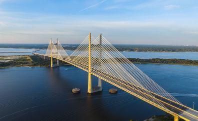 Bridge on sea