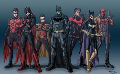 Batman team artwork