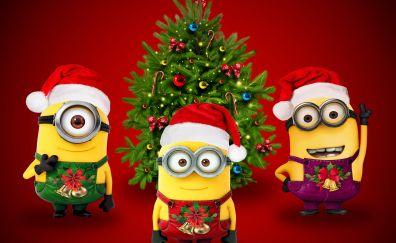 Xmas Santa minions