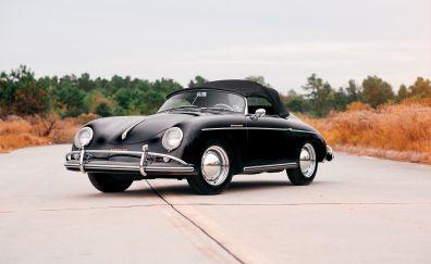 Porsche 356 black car