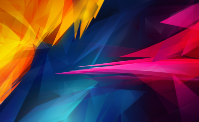 3D Colorful abstract illustration
