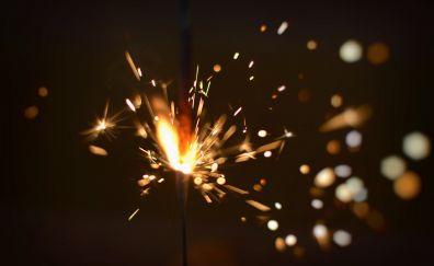 Sparkler, firework, celebrations