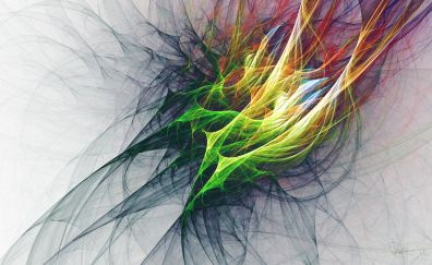 Fractal art, pattern, texture, colorful